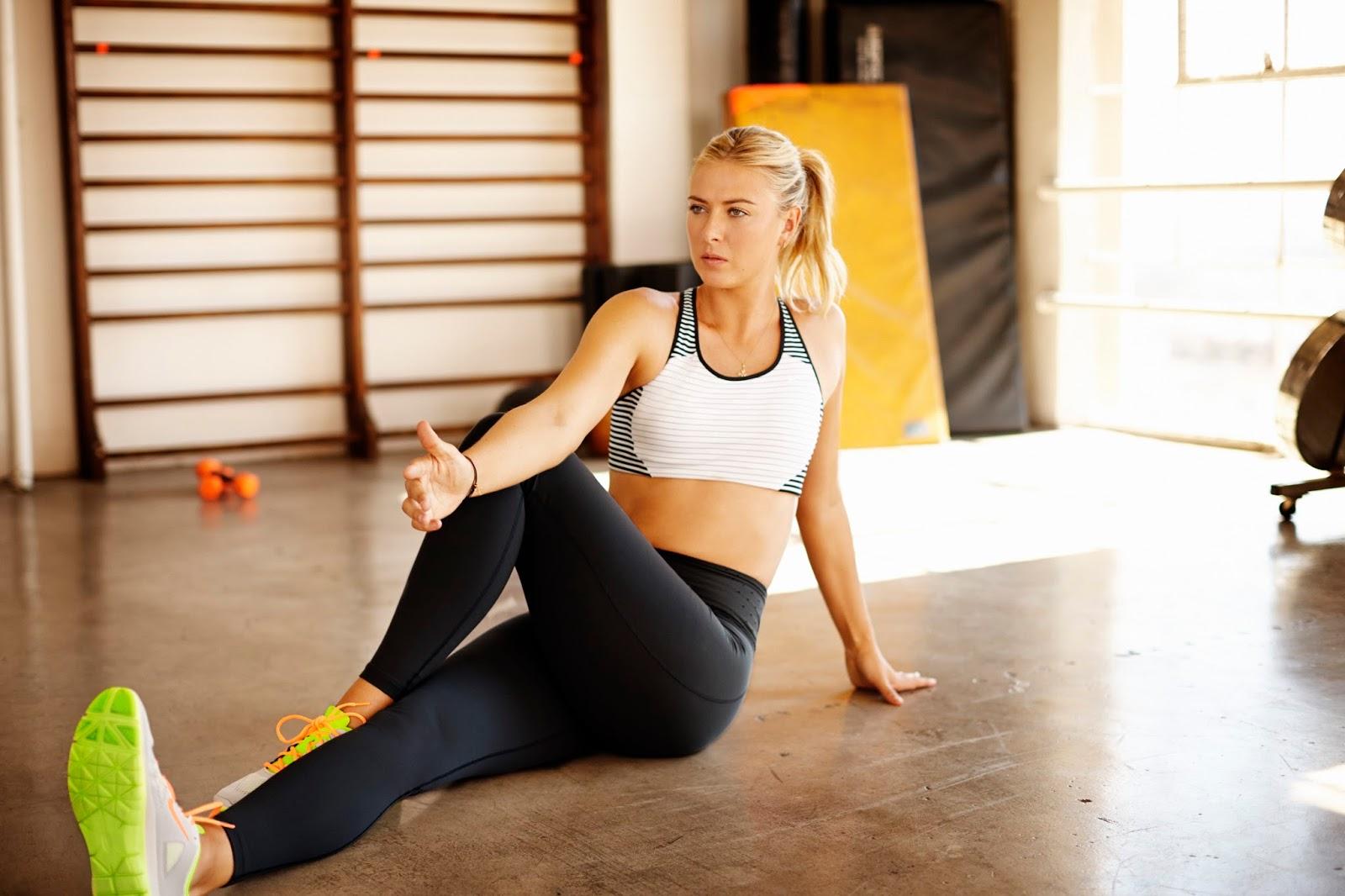 Maria Sharapova's Diet Routine For A Perfect Body