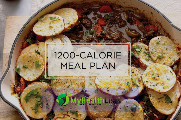 1200 Calorie Diet Plan- What to eat